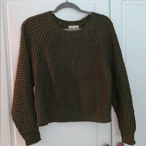 Military Green Knit sweater